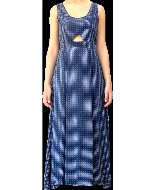 Μακρύ Βαμβακερό Φόρεμα
