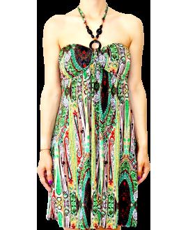 Κοντό Στράπλες Φόρεμα Ζέρσεϋ σε XL Μέγεθος